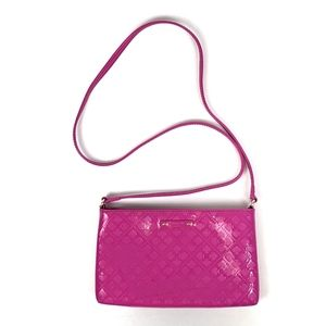 Kate Spade Pink Patent Leather Crossbody Purse